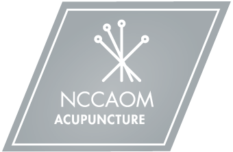 NCCAOM Service Mark Acupuncture